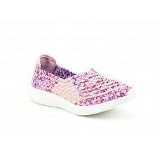 Heavenly Feet Peony Comfort Shoe Pink/Berry