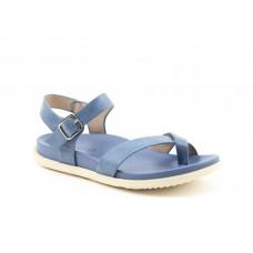 Heavenly Feet ladies Vegan friendly toe post sandals River blue