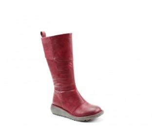 Heavenly Feet ladies tall boot Robyn claret