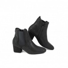 Heavenly Feet ladies ankle boots Wave 2 Black Diamonte