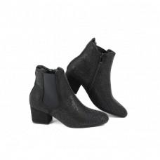 Heavenly Feet ladies ankle boots Wave 2 Black Diamonte