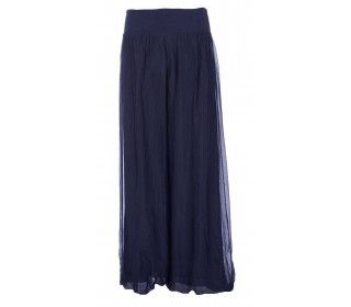 Womens Italian Silk Trousers