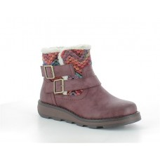 Heavenly Feet Kassy (Cherry) Ankle Boot