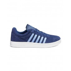 K-Swiss Court Cheswick Men's Suede Trainers Navy /Stonewash/White