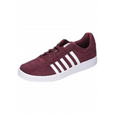 K-Swiss Court Cheswick Men's Suede Trainers Port/White