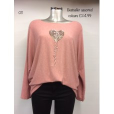 Made in Italy heart top