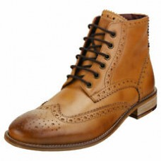 London Brogues Gatsby Boot Chestnut