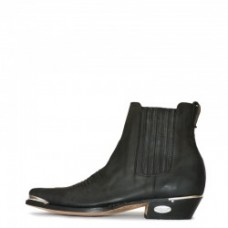 Loblan Style 298 Men's Ankle Boot Shiny Black