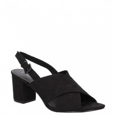 Marco Tozzi Block Heeled Sandal Black