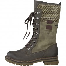 Marco Tozzi Mid Calf Walking Boots Matilda Cigar Ladies