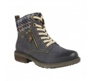 Lotus Relife ladies  ankle boot Nancy navy