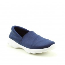 Heavenly Feet Ladies Ath-leisure comfort shoe, style Rumble. (Navy)