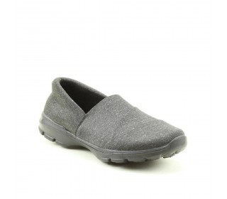 Heavenly Feet Ladies Ath-leisure comfort shoe, style Rumble. charcoal