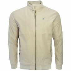 Lambretta Men's Showerproof Harrington Jacket Stone