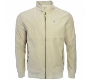 Lambretta Men's Showerproof Harrington Jacket Stone