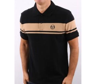 Sergio Tacchini New Young Line Polo Shirt  Black/Doe