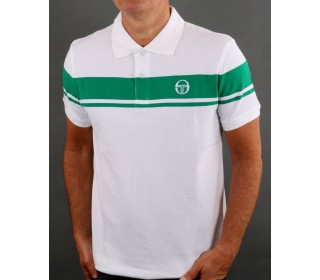 Sergio Tacchini New Young Line Polo Shirt  Green/White