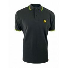 Trojan TC 1009 Jamaica Polo Shirt Black Green/Yellow Men's