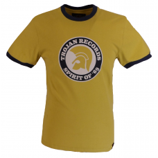 Trojan Records Mens Spirit Of 69 Tee Shirt Pistachio
