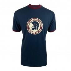 Trojan TC 1006 Spirit Of 69 Ringer T Shirt Navy