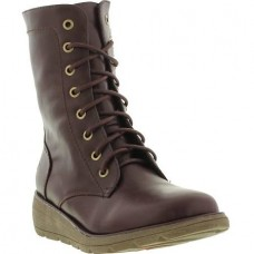 Heavenly Feet Walker2 (Berry) Combat Ankle Boots