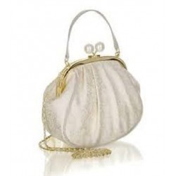 Ruby Shoo Arco (Cream Gold) Handbag