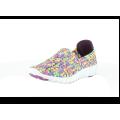 Heavenly Feet Lizzy Jade / Multi Lightweight Memory Foam Woven Shoe