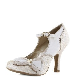 NEW Ruby Shoo Maria (Cream Gold)