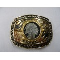 Coin Head Belt Buckle